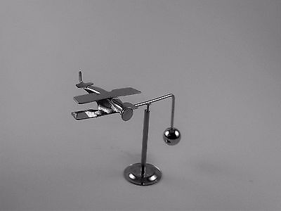 Airplane Balance Mobile 854s Kinetic Stress Relief Retro Mini Desktop Spin Toy