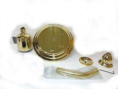 Set Pressure Balance (PlumbTrim Pressure Balance Shower Trim Kit Set  3-7004/01 Polished Brass )