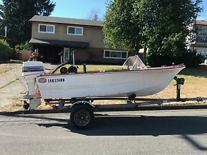14' Double Eagle fishing boat