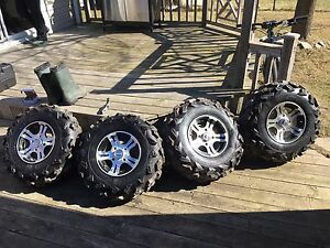 "Arctic Cat Rims & 26"" Tires"