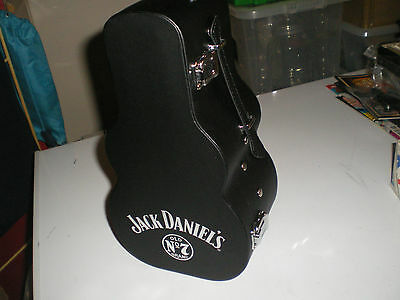 JACK DANIELS BOTTLE HOLDER GUITAR CASE HEAD STOP BOX NEW IDEAL GIFT