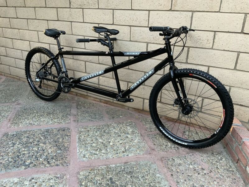 Cannondale MT800 tandem Bike shimano xt TRP Brakes Large / Small  In Very Nice