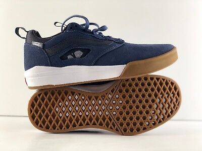 790751f5ec Vans Ultrarange Pro Vintage Indigo Gum White Men s Low Top Size 6.5