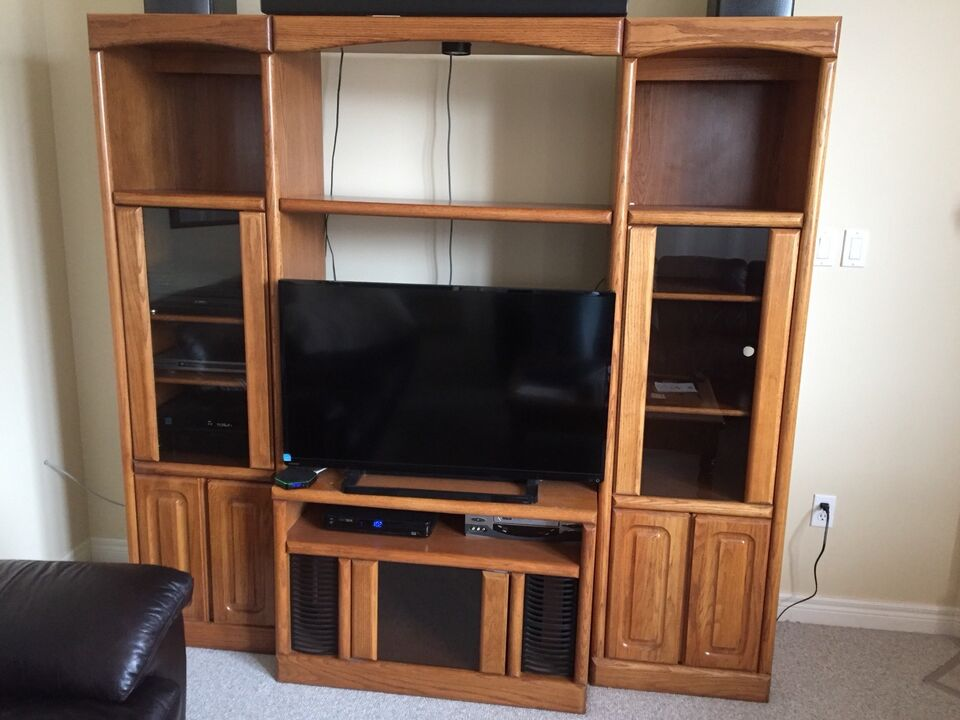 Tv stand and wall unit | TV Tables & Entertainment Units | London ...