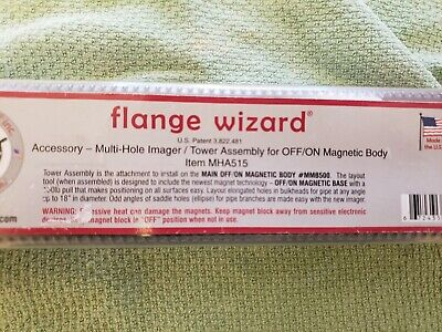 Flange Wizard Accessory-multi-hole Imager Tower Assembly For Offon Magnetic Bo