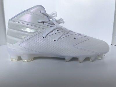 low priced bec8c 903f4 Adidas Freak X Carbon Mid Football Cleats Sz 13 AQ8771 White  White