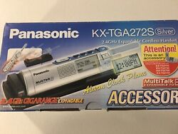 Panasonic KX-TGA272S 2.4GHz Cordless Alarm Clock Phone Expansion Accessory