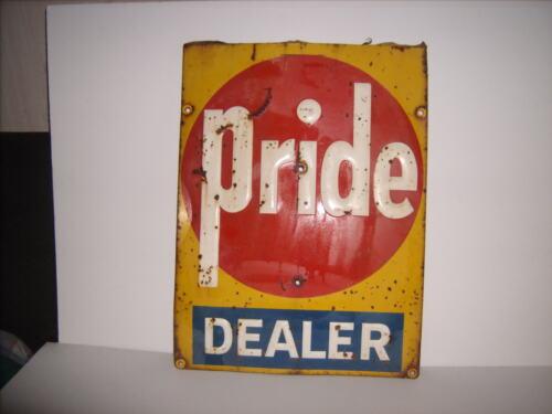 Vintage Pride Dealer Seed Sign