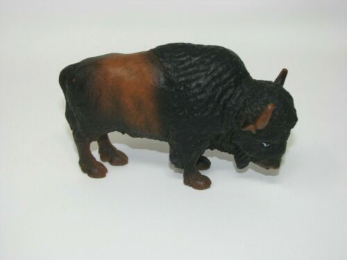 Schleich RARE American BUFFALO BISON Animal Figure 14034 Retired 2000 vintage
