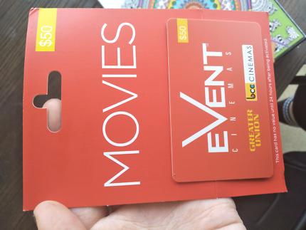 Event cinema card
