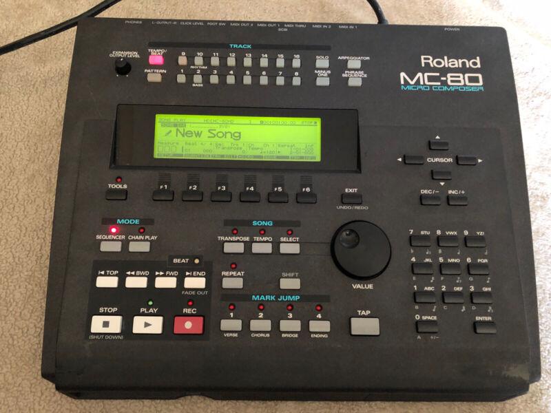 Roland MC-80 Micro Composer