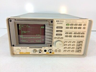 Hp Agilent 8591e Spectrum Analyzer 9khz To 1.8ghz - Tested - Ships Today