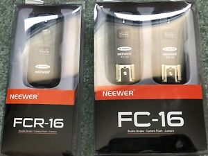 Neewer FC-16 Multi-Channel 2.4GHz 3-IN-1 Wireless Flash/Studio