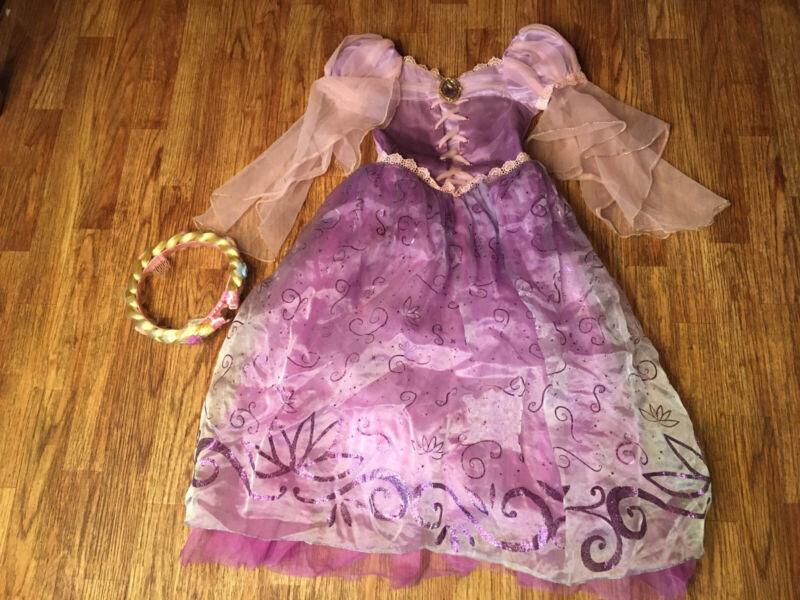Rapunzel Dress Costume Disney Store Child 5/6 Tangled