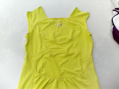 Oakley Womens Ladies Girls Tennis Jersey UV 50 Top M Rear Pockets Cycling Hiking