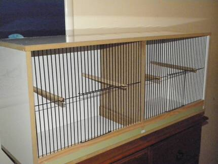 flight cage large or display cage with removable divider