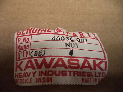 Kawasaki OEM New cable adjusting nut 46056-007 KZ1000 KZ 1000 305 400  #7394