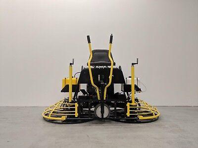 Hoc Qumh80 Honda Gx690 36 Inch Ride On Power Trowel 3 Year Warranty