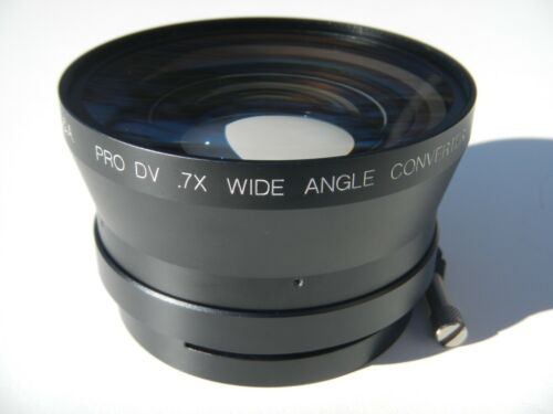 Century Optics .7x Zoom Thru Wide Angle Converter Lens w/ 75mm Slip-On Mount