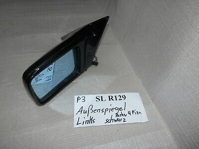 el. Aussenspiegel Seitenspiegel links 4pin R129 SL  Mercedes
