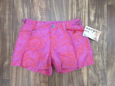 NEW Da Nang Linen Blend Shorts in Fuchsia Rose Size X-SMALL SLS5801553 for sale  Los Angeles