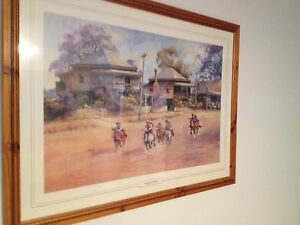 Framed Darcy Doyle print Arana Hills Brisbane North West Preview