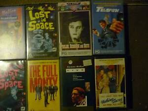 13 DVDS MOVIES    all in excellent working order Bondi Eastern Suburbs Preview