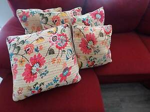5 velvet embroidered cushions Petrie Pine Rivers Area Preview