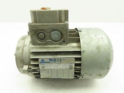 Motovario T71b4 Electric Reducer Motor 12hp 3phase 208230460v 1730 Rpm Imb14