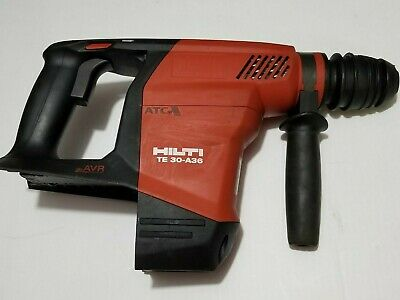 Hilti Te 30-a36 36v Rotary Hammer Drill Tool Only Used.