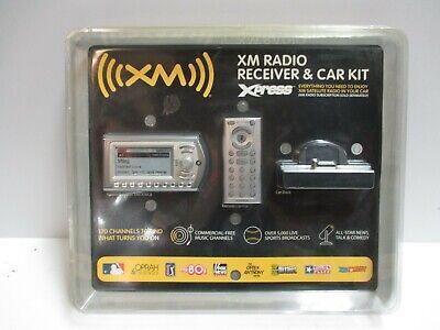 SiriusXM Xm RADIO Xpress Radio with Car Kit  XMCK10CB new