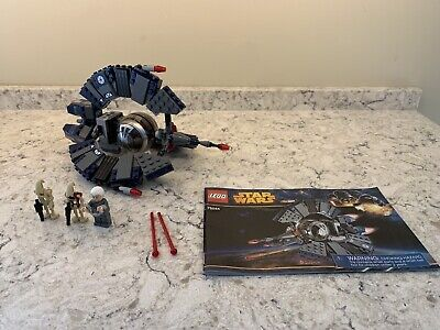 Retired Complete LEGO Star Wars Droid Tri-Fighter (75044)