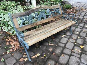 Miniature park bench / garden bench child's size