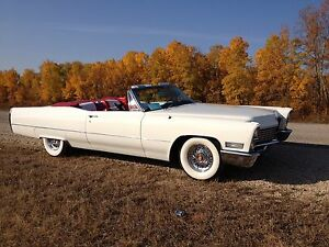 Classic 1967 Cadillac deVille convertible