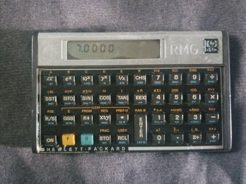 HP 11C Hewlett Packard Calculator As PICTURED Still works