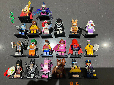 LEGO 71017 Complete Set of The Lego Batman Movie Series 1 Minifigures