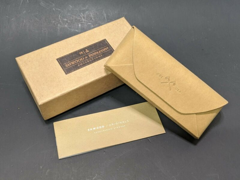 New Shwood Sunglasses Case For Pendleton