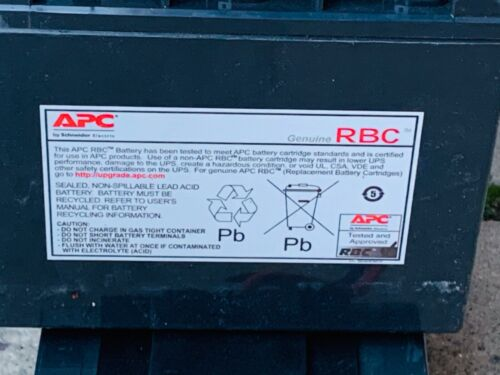 4 PACK NEW OTHER Genuine APC Batteries for APC Smart-UPS 2200C