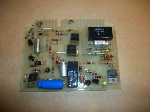 Union Carbide Welder Control Board 994394  Rev K