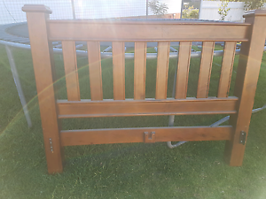 Queensize timber bed frame Toowoomba Toowoomba City Preview