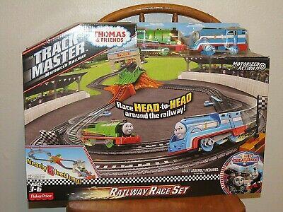 Thomas & Friends Train Toy Track Master MOTORIZED RAILWAY RACE Set NEW