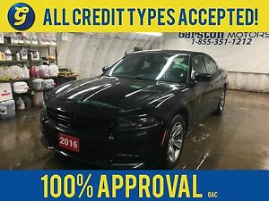 2016 Dodge Charger SXT*Uconnect 8.4-in Touch Screen/SiriusXM/Han