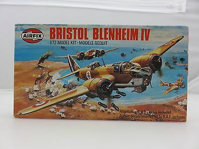 Airfix BRISTOL BLENHEIM IV 1/72 Scale Plastic Model Kit UNBUILT Vintage 1978