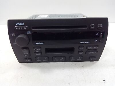 2002-2004 Cadillac Seville AM FM CD Cassette Player Radio Bose OEM