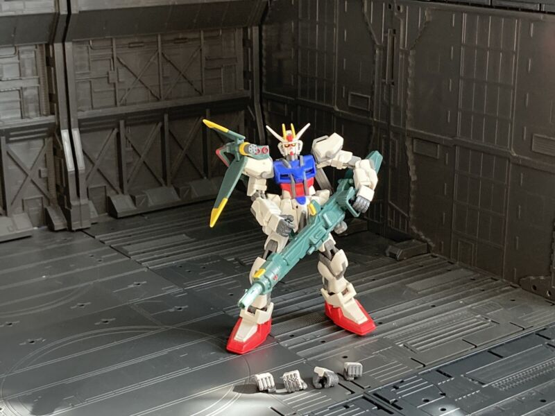 Bandai Mobile Suit Gundam Seed Active Launcher Strike Action Figure Lot Msia