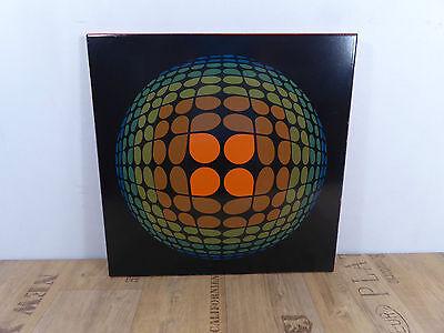 60s 70s Emaille Bild Wandbild Eisen Blechbild Disco Loft 60er 70er Vintage