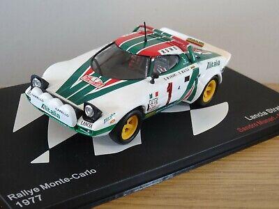 ALTAYA IXO LANCIA STRATOS WRC 1977 RALLY MONTE CARLO MUNARI CAR MODEL MH04 1:43