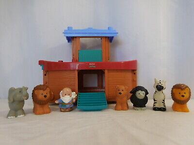 Fisher Price Little People Zoo Animals Noah's Ark Noah & 6 Animals