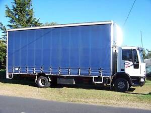 Curtainsider Iveco Eurocargo 2002 Wentworth Falls Blue Mountains Preview