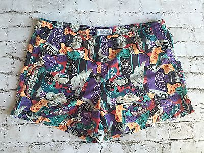 Reyn Spooner Men's Vintage Hawaiian Tiki Water Prints Swim Shorts Trunks